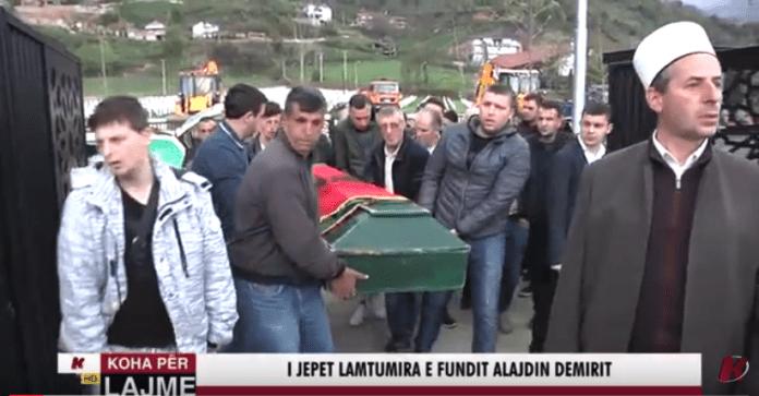 I jepet lamtumira e fundit Alajdin Demirit (VIDEO)