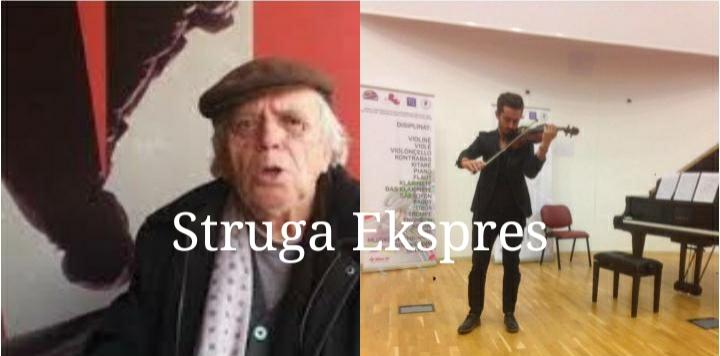 Endrit Ahmeti, violinisti i talentuar nga Struga që po ndjek hapat e gjyshit të tij Skender Ahmeti (FOTO)