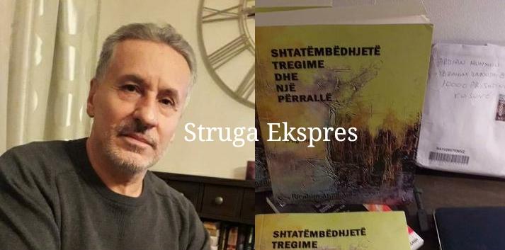 """Ibrahim Abedini, poeti dhe shkrimtari nga Zagraçani i Strugës vjen me librin e tij të ri, """"Shtatëmbëdhjetë tregime dhe një përrallë"""" (FOTO)"""