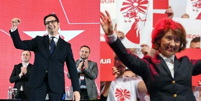 Pendarovski e Siljanovska kërkojnë votën e shqiptarëve