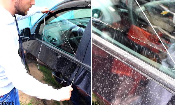Për 30 sekonda mund ta hapni derën e veturës nëse i harroni çelësat brenda (VIDEO)
