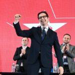Stevo Pendarovski: Vota për numrin 3 është garanci se nuk do të kthehet regjimi i Nikolla Gruevskit
