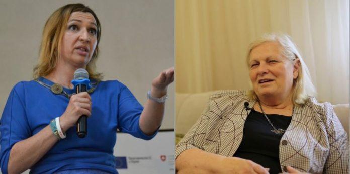 Jeta Xharra – Brovinës: Je kallxu budallicë, e ke dh** punën