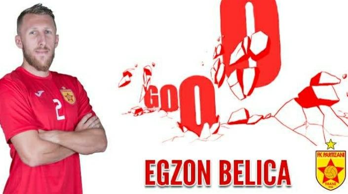 Egzon Belica është lojtari kryesor i Partizanit, e duan të gjithë