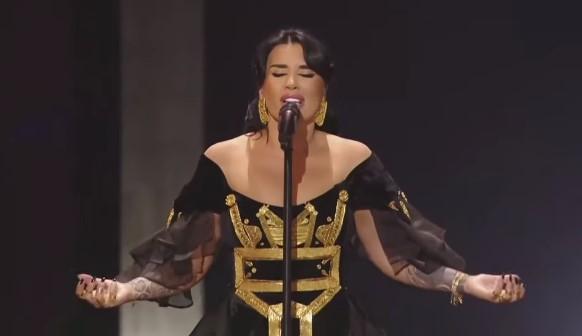 """Jonida Maliqi nderon Shqipërinë në """"Eurosong"""", shkon në finalen e madhe (VIDEO)"""