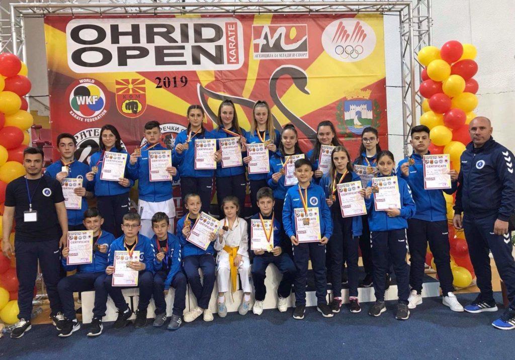 """Sportistët strugan të K.K """"Drinit"""" shkëlqejnë në Ohër (FOTO)"""