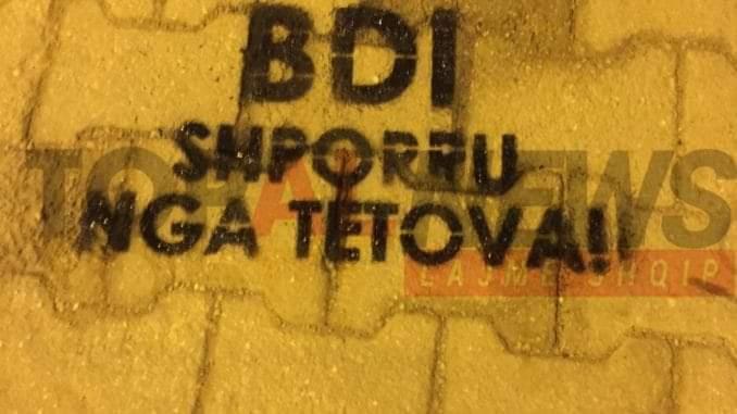Policia e Tetovës përgatit arrestimin e autorëve të grafitëve anti-BDI?!