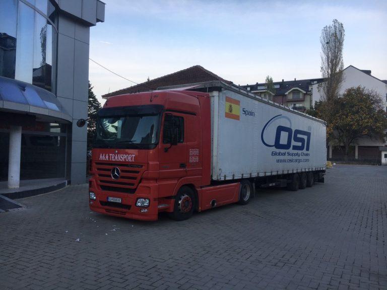 """Me """"A&A TRANSPORT""""- Strugë, transportoni mallrat nga Zvicra për në Maqedoni! Shpejtë, Saktë dhe Sigurt (FOTO)"""