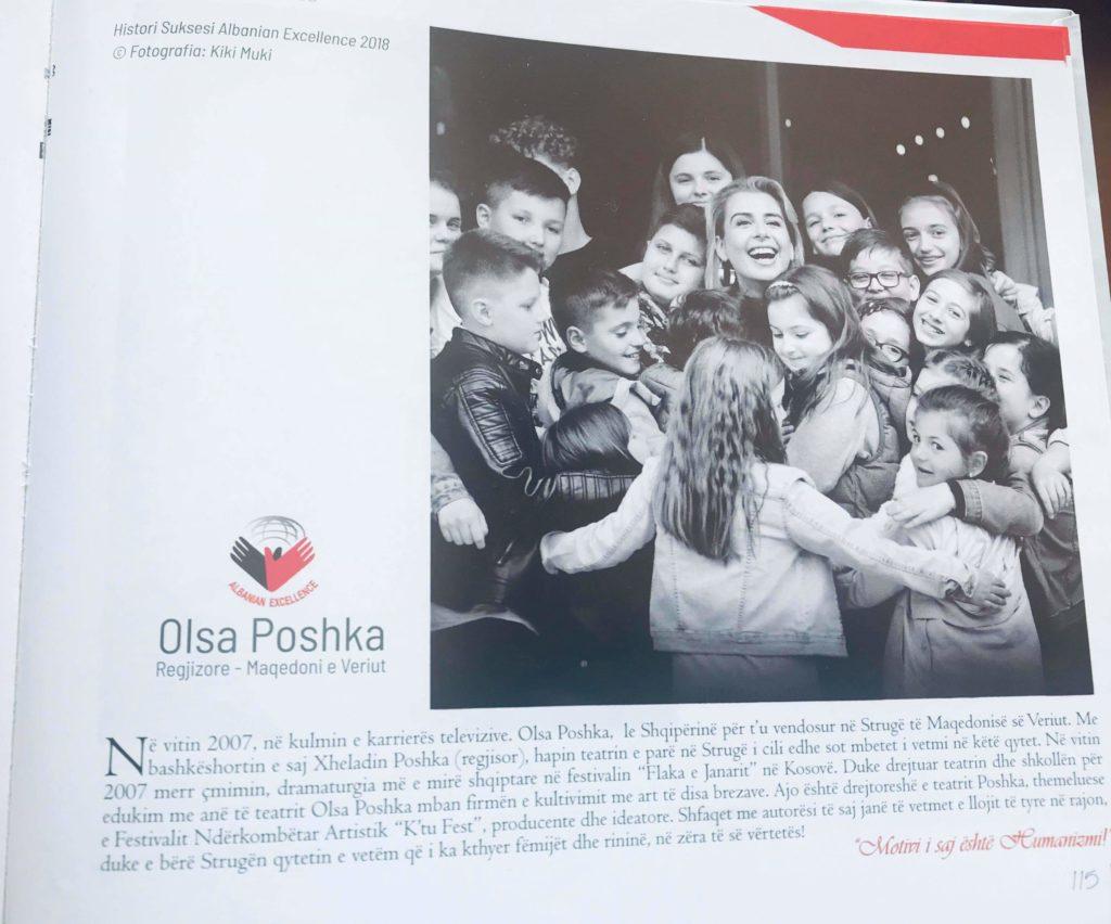 Olsa Poshka një nga 121 zonjat të suksesshme në jetën profesionale! (FOTO)