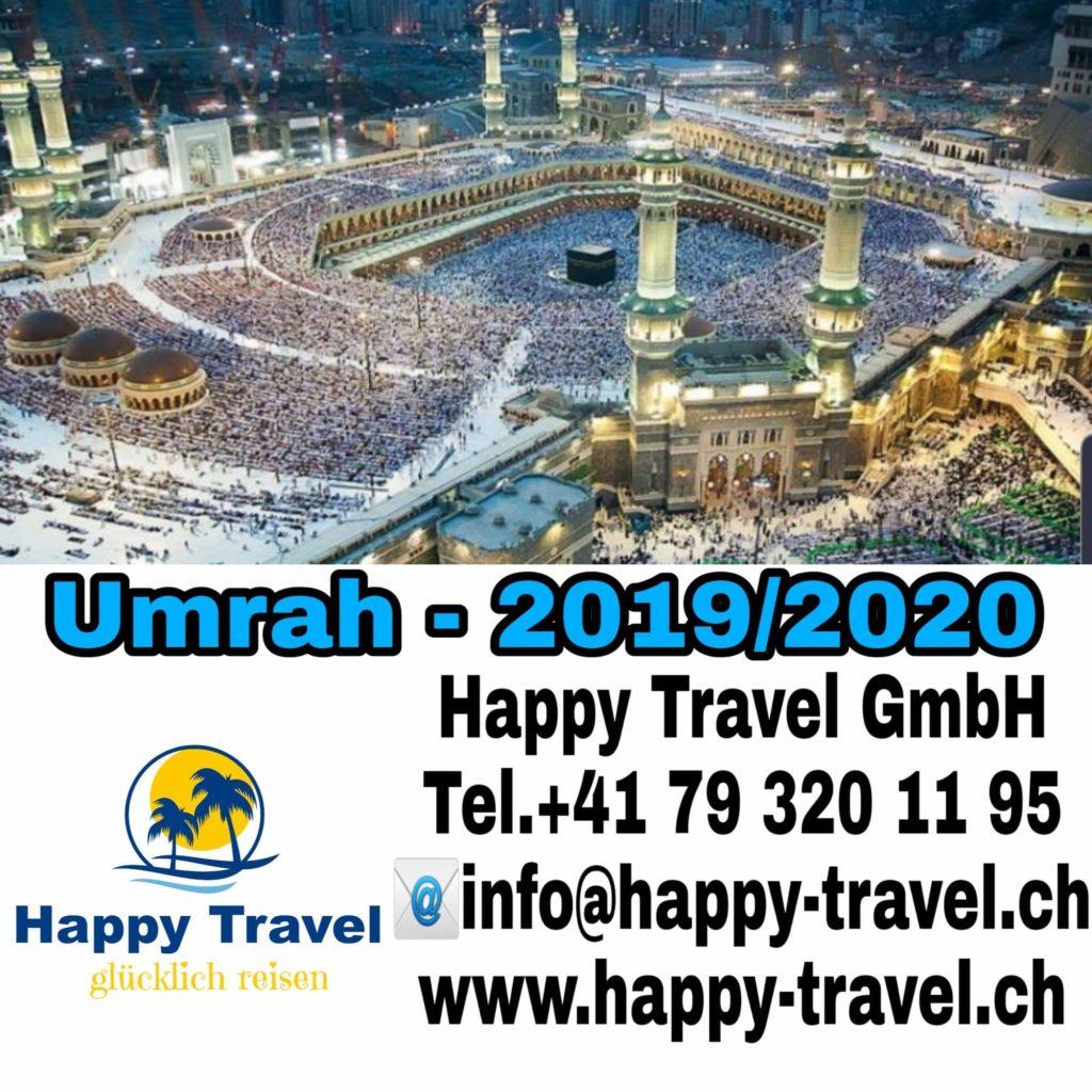 Njoftim për mërgimtarët shqiptar: Happy Travel GmbH organizon udhëtime për të kryer UMRENË në vendet e shenjta islame (FOTO)