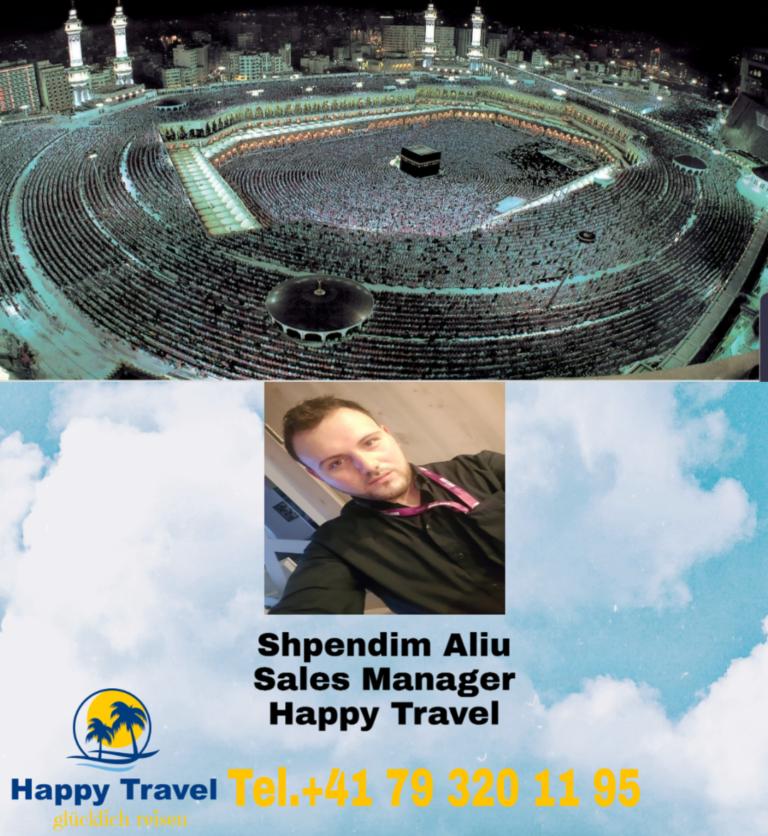 Happy Travel GmbH organizon udhëtime nga Cyrihu dhe Gjeneva për të kryer UMRENË në vendet e shenjta islame (FOTO)