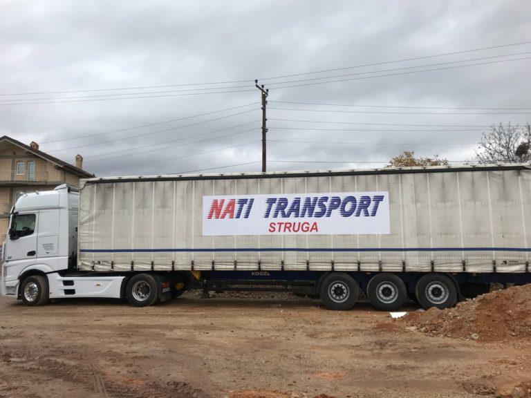 Mallrat dhe makinat nga Zvicra i transporton NATI-TRANS-Strugë, ideale për kërkesat tuaja