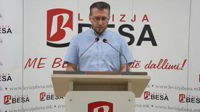 Reagon Lëvizja Besa për moszbatimin e gjuhës shqipe