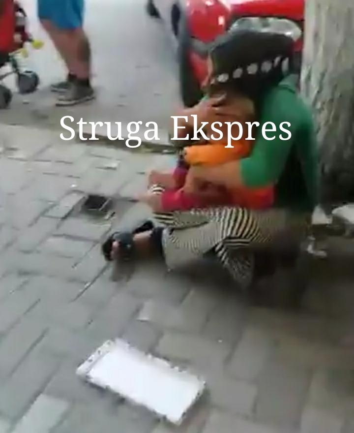 """Lypëset i """"përvëlojnë"""" fëmijët nga i nxehti në Strugë (FOTO LAJM)"""