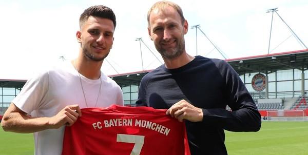 Leon Dajaku, futbollisti shqiptar prezantohet në Bayern Munich