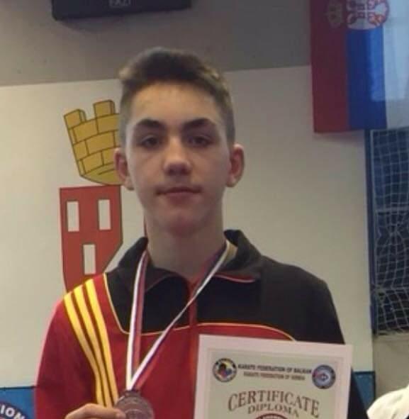 Hamza Zylali, në Kupën e Botës në karate, për të rinjë, në Umag të Kroacisë (FOTO)