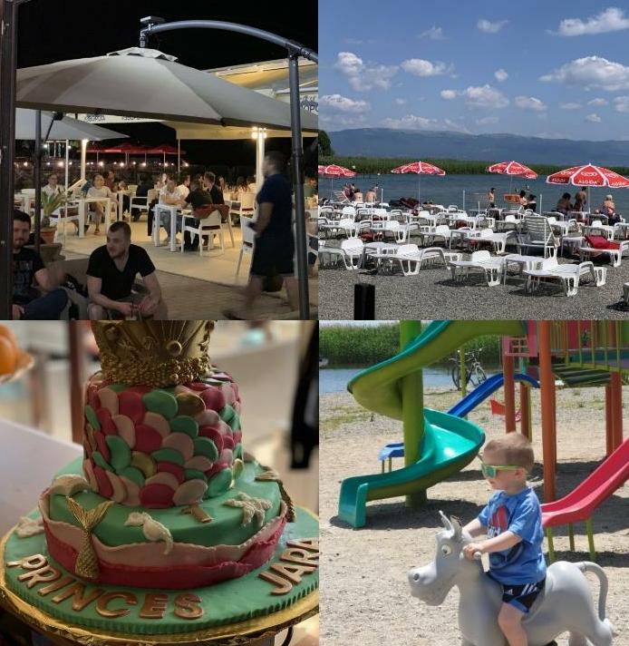 """""""Sharm Bar-Sweets"""", është vendi ideal ku duhet të kaloni ditët e plazhit në Strugë dhe të porositni tortën tuaj të preferuar (FOTO)"""