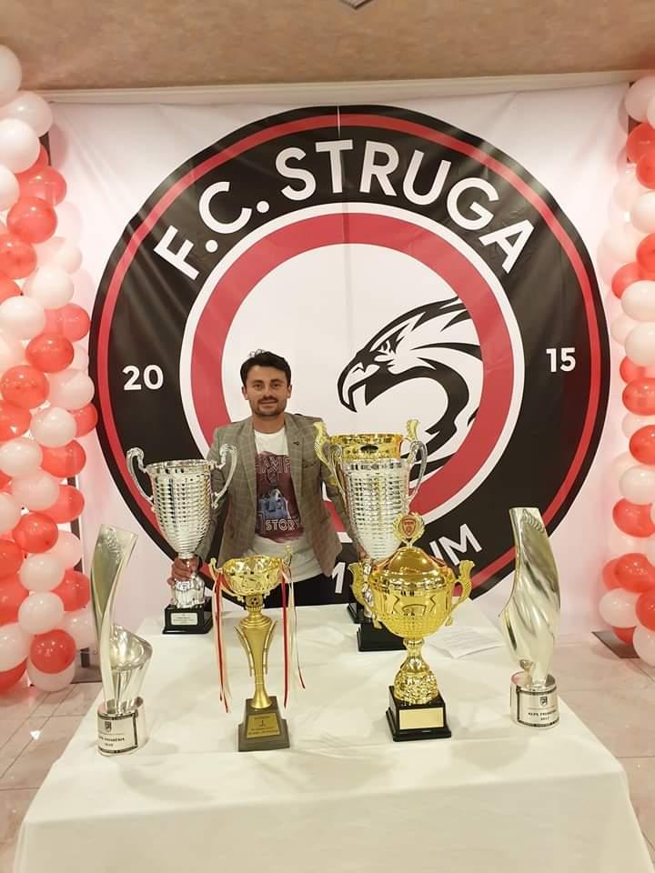 "Strugani Nijas Lena i'a siguron tri pikët e para ekipit FC.STRUGA ""Trim&LUM"""