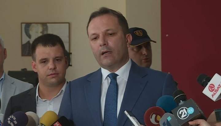 Oliver Spasovski: Tashtë momenti që ta fitojmë luftën kundër kriminelëve dhe banditëve (VIDEO)