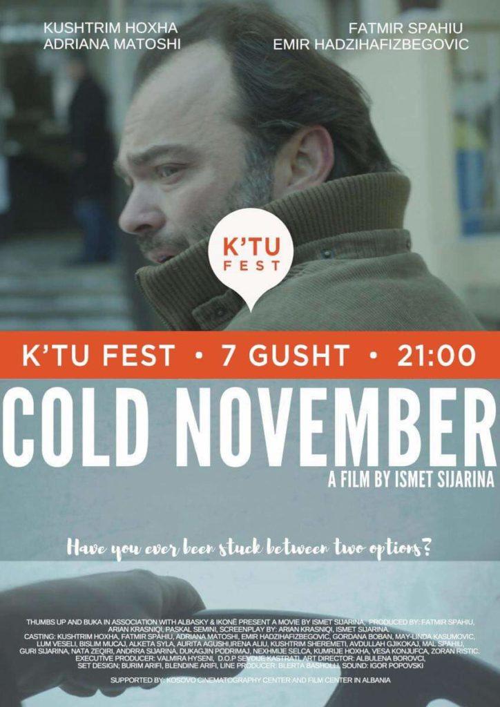 Premierë në Strugë: Nëntori i ftohtë ne K'tu Fest
