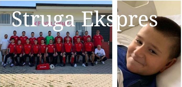 FC.Veleshta me zemër të madhe, ndihmon djaloshin strugan Skënder Borova dhe i uron shërim të shpejtë