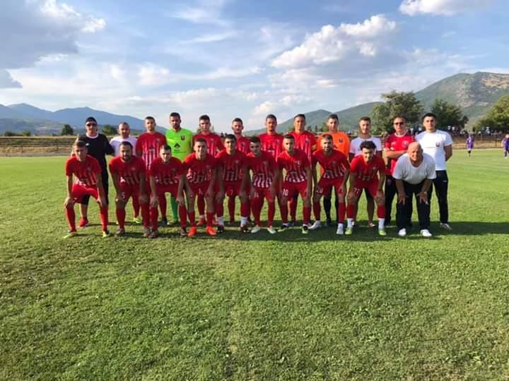 """Fillim fantastik për FC Veleshta, """"shkatërron"""" Karaormanin e Strugës me rezultatin 4:1"""