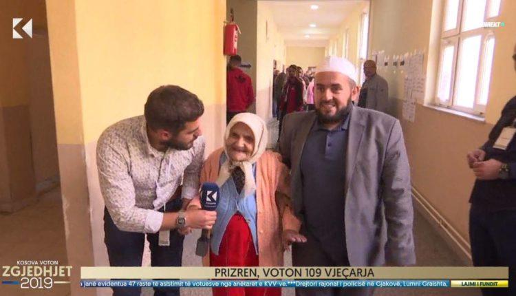 109 vjeçarja voton në Kosovë