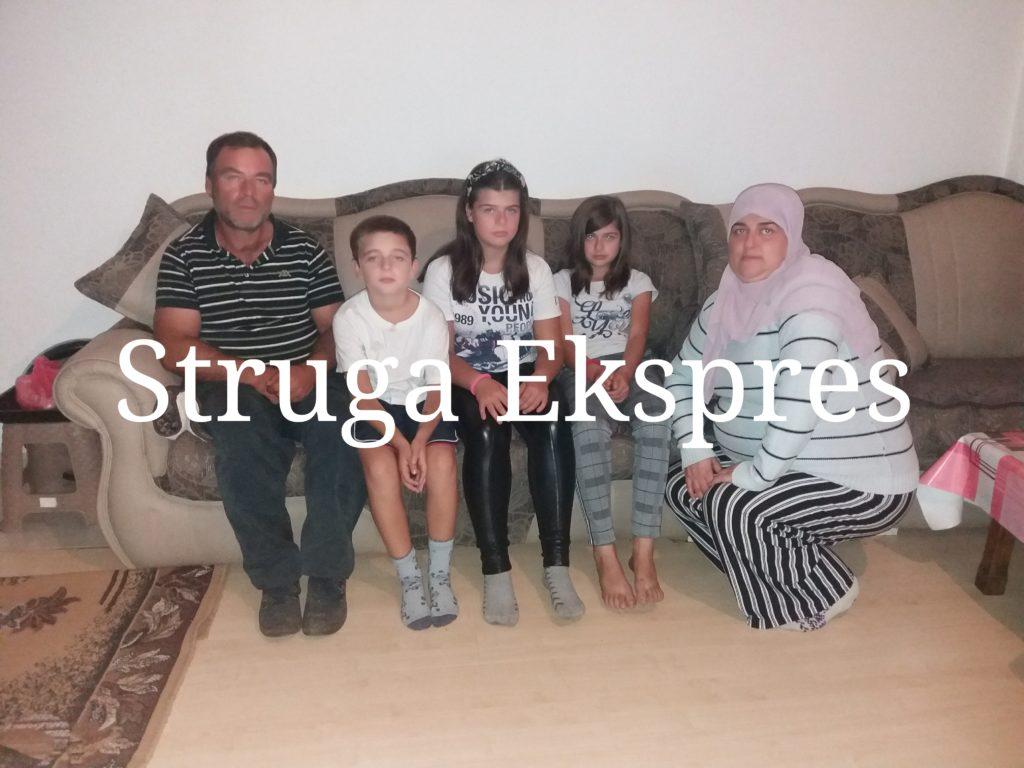 Apel për ndihmë/ Familja strugane me tre fëmijët e saj kanë nevojë urgjente për ndihmën tuaj!