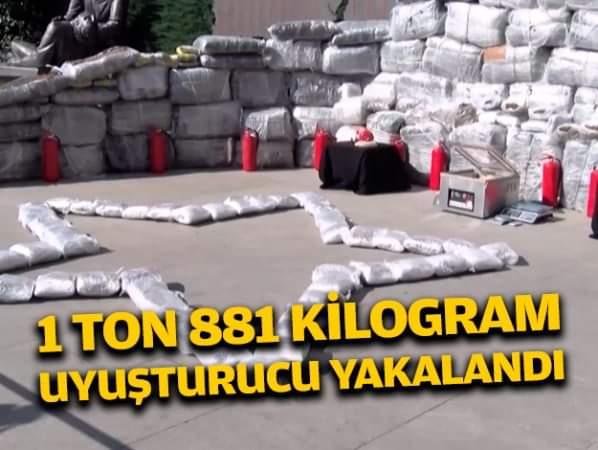 Kapen 1.8 tonë drogë në Turqi, po transportoheshin me dy kamionë nga Shqipëria