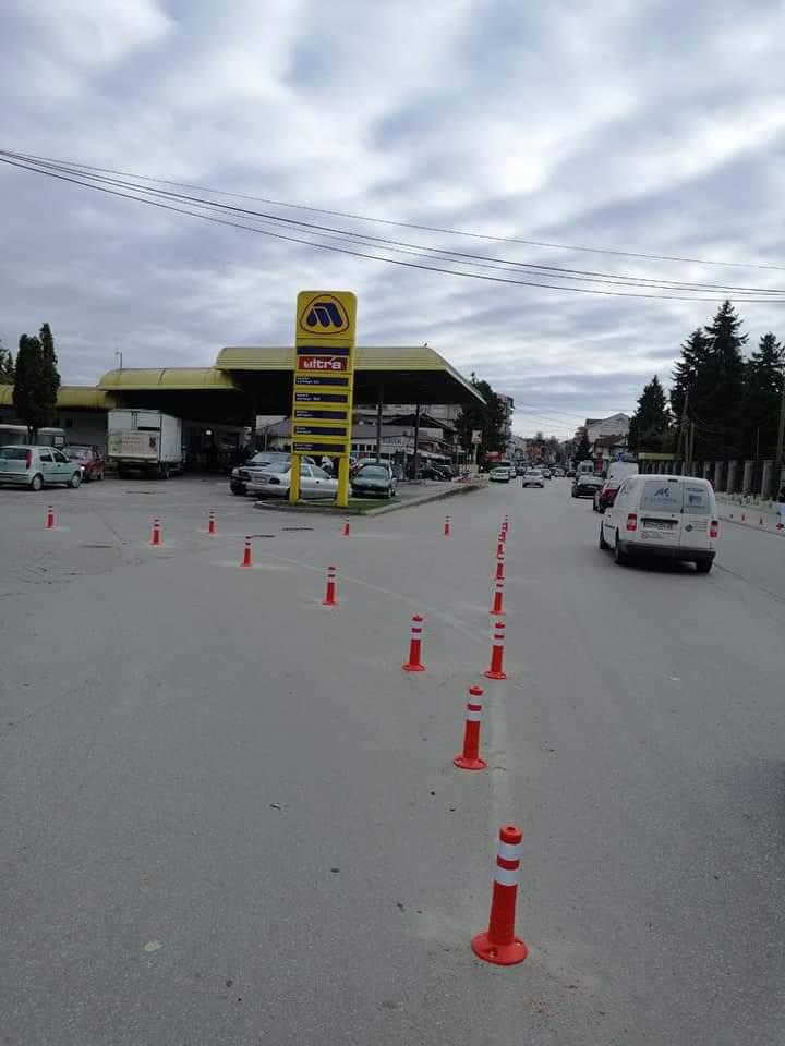 """Filluan punimet për zgjerimin dhe rekonstruimin e rrugës """"Proleterski Brigadi"""", hyrja e Strugës me dy korsi të reja (FOTO)"""