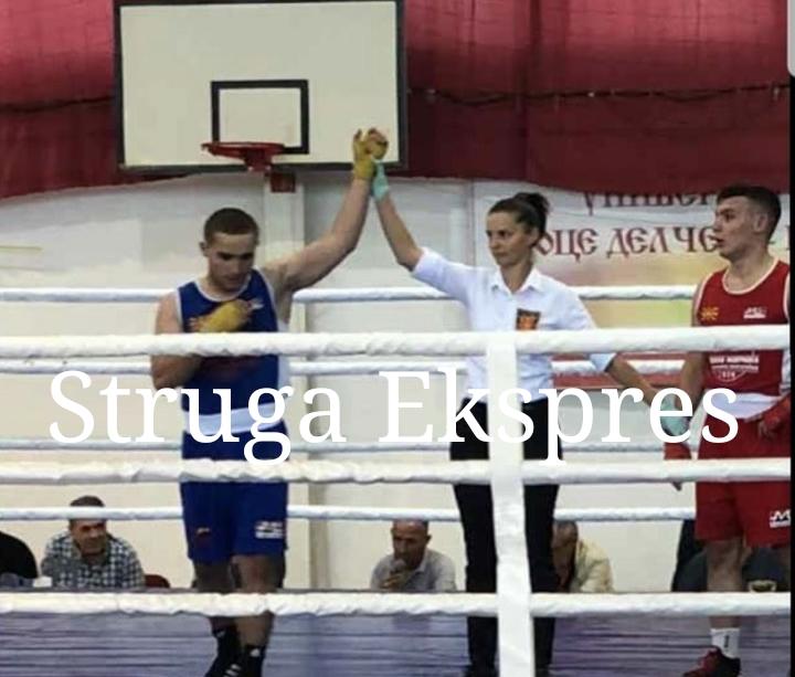 Alim Nasufi, boksieri nga Veleshta shpallet kampion i Maqedonisë (FOTO)