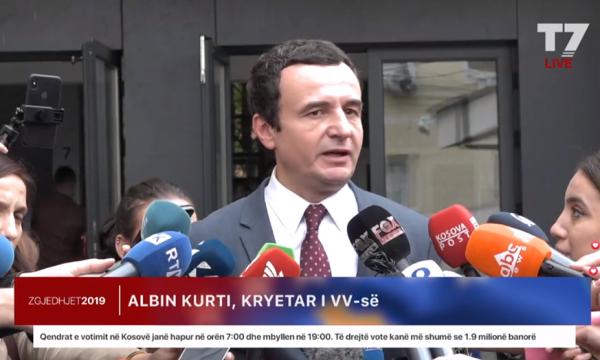 Albin Kurti: Të votojmë dhe të festojmë