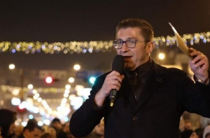 Mickoski: Durimi jonë u sos, të dalim në rrugë e sheshe, prej sot jemi fitues të zgjedhjeve të parakohshme
