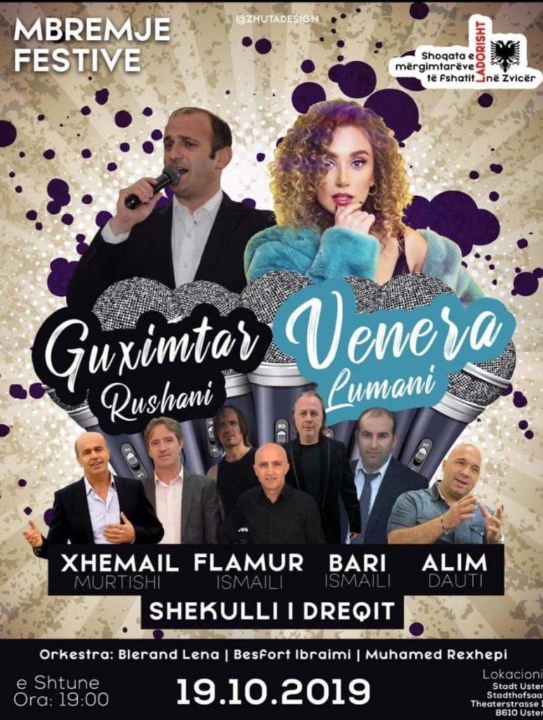 Shoqata e mërgimtarëve të Ladorishtit në Zvicër, të shtunën organizon mbrëmje muzikore me këngëtarët e njohur strugan (VIDEO-FOTO)
