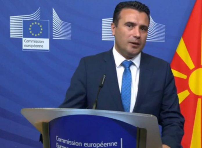 Zaev a do të dorëhiqet nëse nuk merrë datën për bisedime me BE-në?