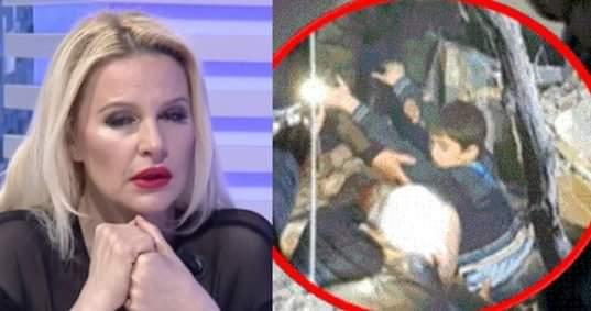 E prekur nga ngjarja e dhimbshme, Rudina Magjistari qan në mes të emisionit (FOTO)
