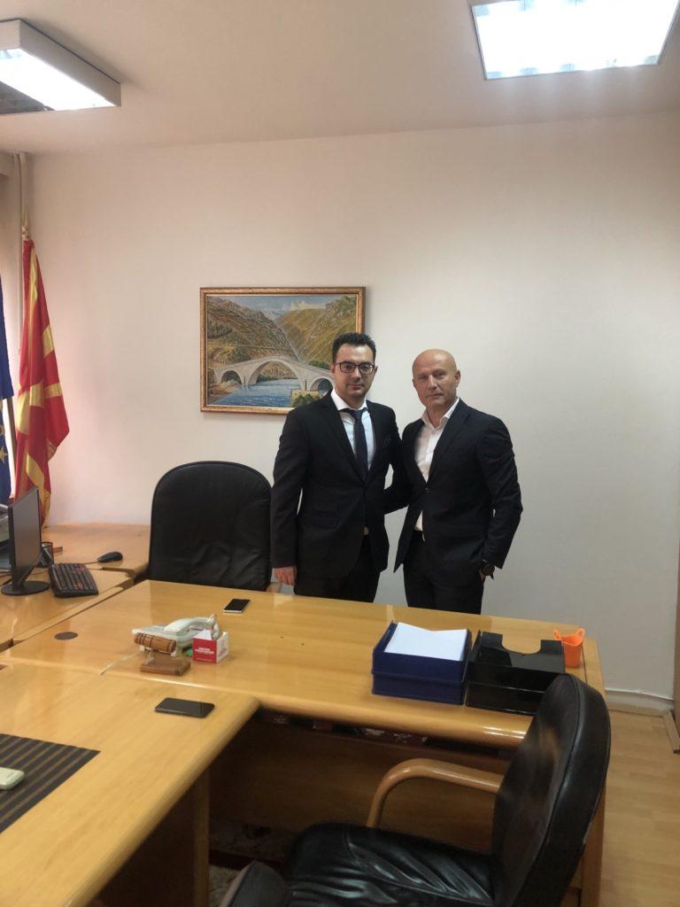 Struganët Asim Musa dhe Armend Arsllani bën pranim dorëzimin e detyrës së zv.ministrit të shëndetësisë (FOTO)