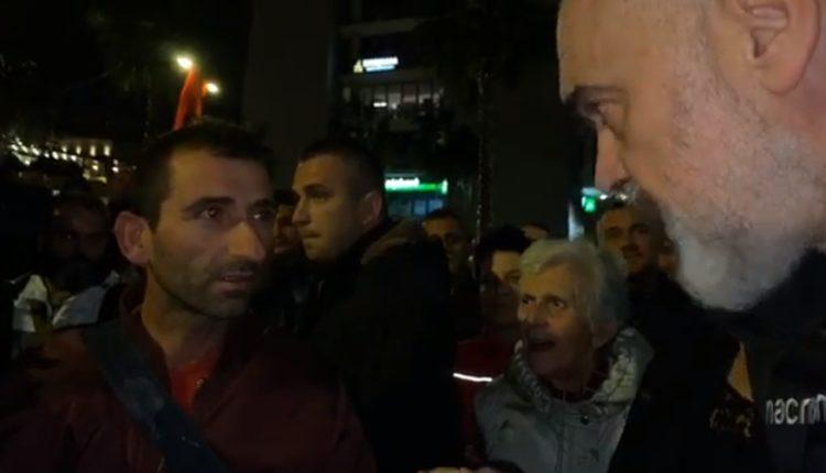 Qytetari çmend Ramën: Ma kanë marrë gruan, Rama o Zot o Zot (VIDEO)