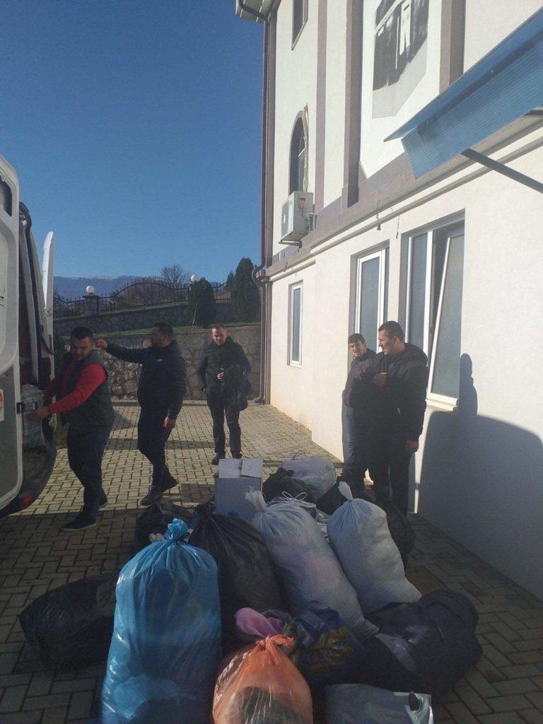 Tateshi i Epërm ndihmon vëllezërit shqiptar të prekur nga tërmeti (FOTO)
