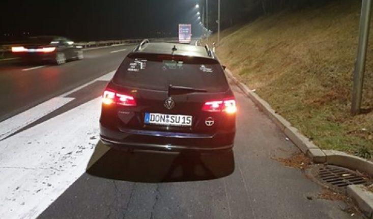 Mërgimtari mbetet në autostradën e Serbisë: Serbët mi shpërthyen gomat