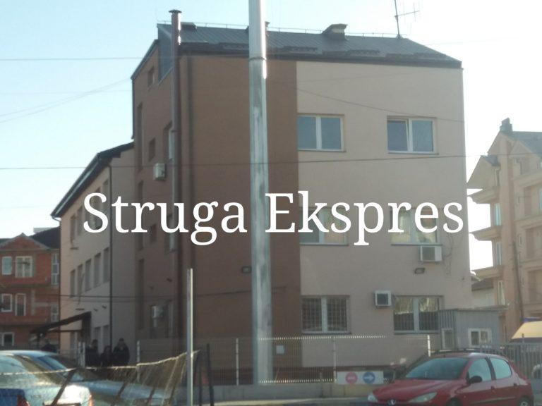 SPB: Aksident në Strugë, lëndohet një person