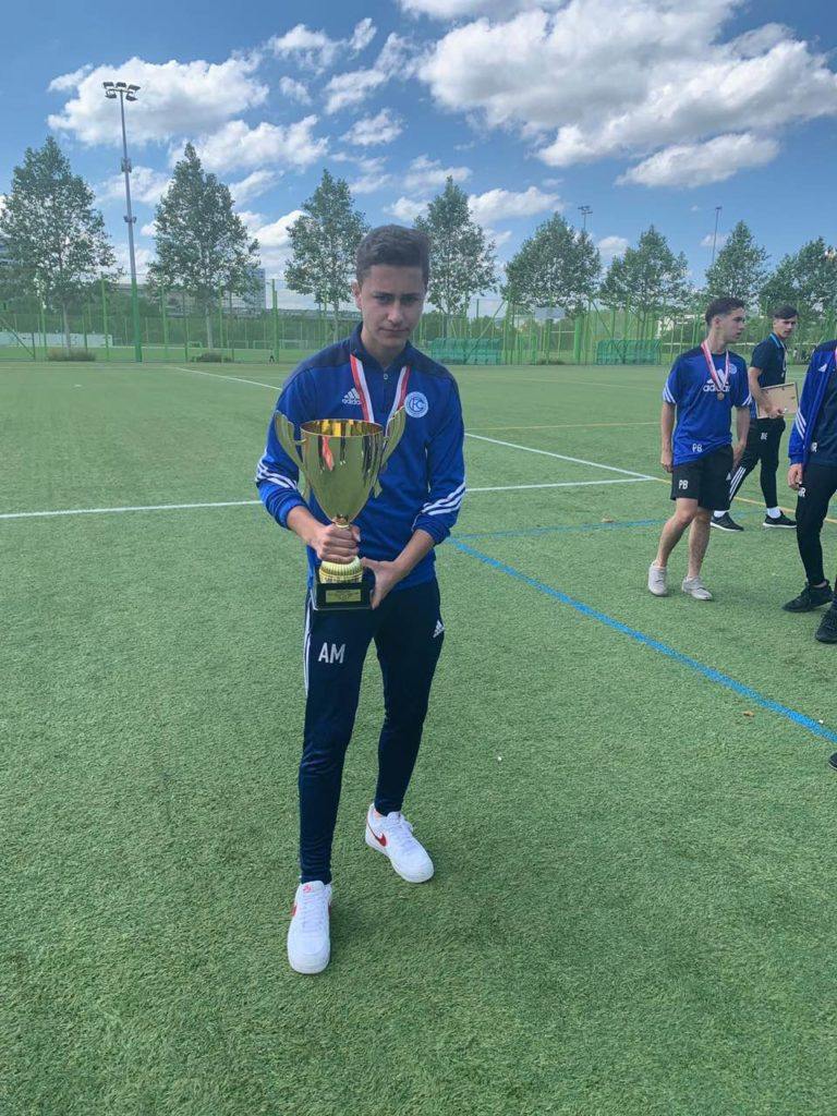Futbollisti Arlind Merko, 17 vjeçari nga Ladorishti i Strugës që po mahnit Evropën (FOTO-VIDEO)