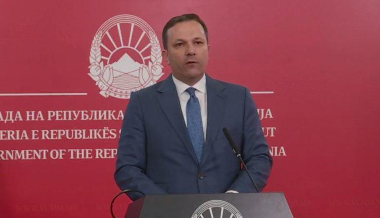 Spasovski: Prioritet janë ligjet dhe jo zgjedhjet, nuk do të ketë shpërbërje të kuvendit pa miratimin e ligjeve