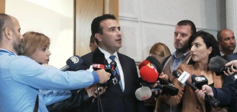 Zoran Zaev: Me BDI-në zgjodhëm çështje të mëdha, për herë të parë pres koalicion parazgjedhor më parti nga blloku shqiptar