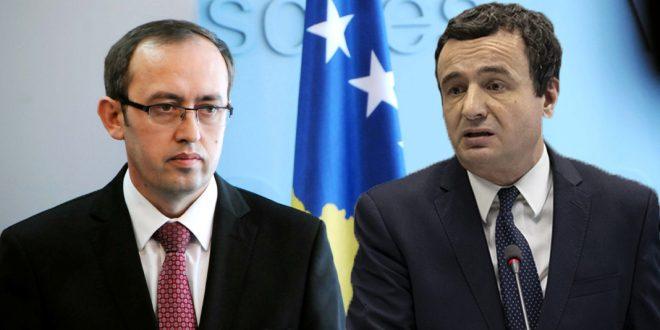Lajmi i fundit: Albin Kurti e shkarkon Avdullah Hotin nga posti i zv.kryeministrit (dokument)
