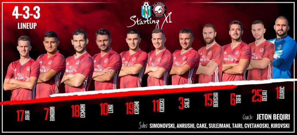 Këta janë heronjtë e klubit strugan FC.Struga Trim&Lum që u kualifikuan në gjysëm finalen e Kupës së Maqedonisë
