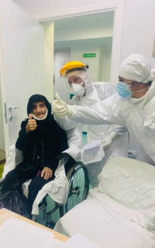LAJM I MIRË/ Shërohet nga koronavirusi 80 vjeçarja, nënë Haxhireja (FOTO)