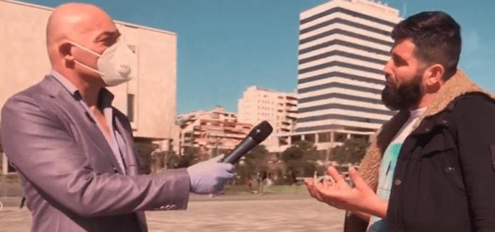 Besimtari musliman i drejtohet Blendi Fevziut: Nuk mbaj maskë, virusin e hodhi Zoti (VIDEO)