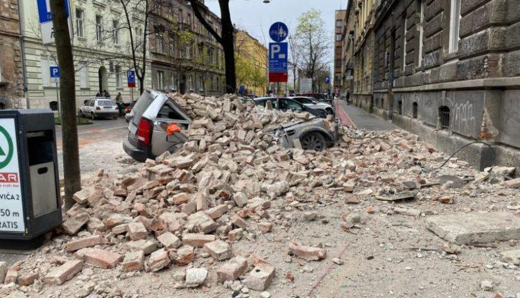 Dy tërmete të fuqishme tronditin Kroacinë (VIDEO)