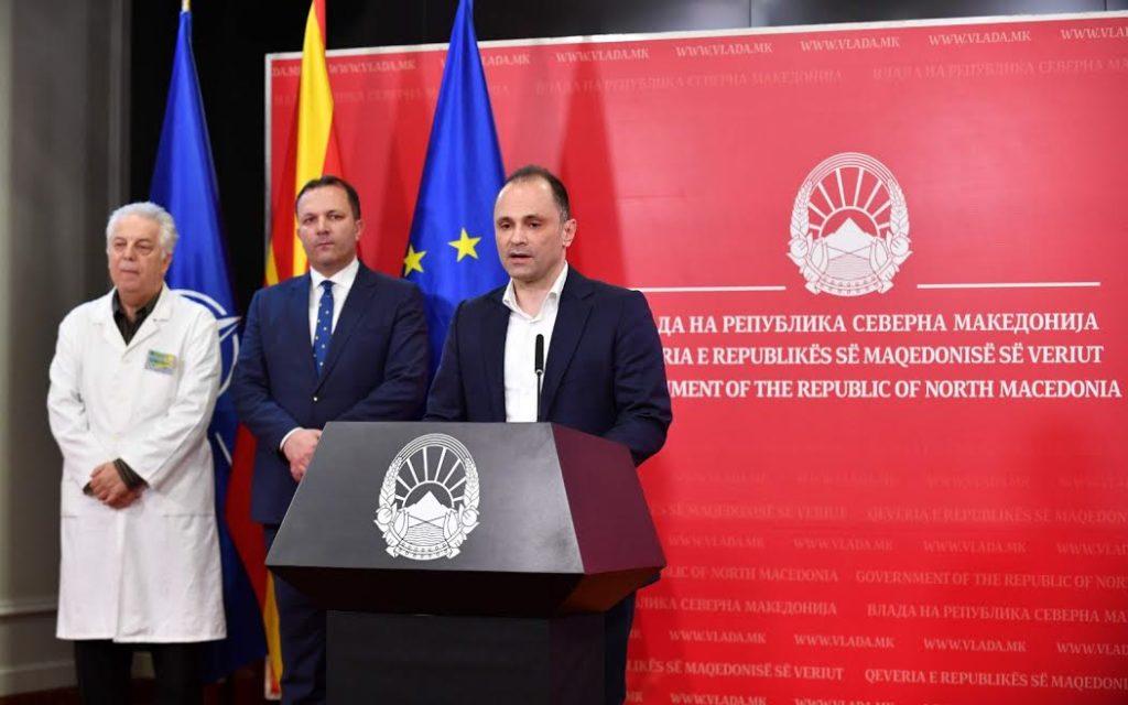 Ministri i shëndetësisë propozon mbylljen e qendrave tregtare në Maqedoni